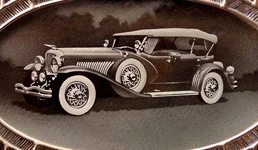 glass etched car by Ron Branch